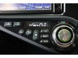 エアコンは簡単操作のプッシュ式です。温度調整はダイヤルで調整するシンプル設計なので使いやすいですよ。ナノイー搭載車ですので、肌や髪にやさしいナノイーが室内を爽やかな空気環境にしてくれます。