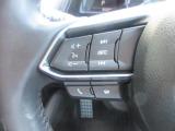 ステアリングには各種スイッチを配置。左手は主にオーディオの操作が行えます。