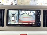 ★パノラマビューモニター★4個のカメラから得た画像を車両上方から見下ろしたような映像で表示することで、車と路面の駐車枠の関係を一目で確認できます!