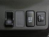 ヘッドライトレベリングスイッチ。またエコアイドルスイッチ付。燃費良いです。