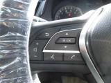 オーディオの音量やチャンネル操作ができるスイッチが、ハンドルに付いています。運転中でも、操作が行えて非常に安全・便利です!