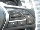 一定の速度を保ちつつも車間距離や追従までするインテリジェントクルーズコントロール付き。