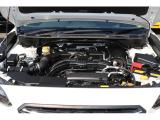 低振動・低重心が特徴の水平対向エンジンがスバルの良さを引き出します!