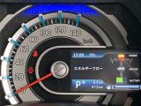 カラーで表示されるマルチインフォメーションディスプレイ☆ナビゲーションとの連携で交差点に関する情報表示や平均燃費、セーフティーサポート情報なども表示されますよ☆
