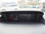 お車の燃費や情報をお知らせするマルチファンクションディスプレイ