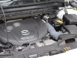 CO2の排出量の少なさなどディーゼルエンジンの長所を最大限に生かし上質で快適な走りを実現させたSKYACTIV-Dを搭載!