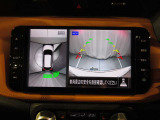 【インテリジェントアラウンドビューモニター】見えないところもカメラでしっかり確認できます!車庫入れや狭い道も安心です!移動物検知機能付!