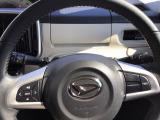 ステアリングスイッチつきなので運転中ハンドルから手を離さず音量やモードの切り替えが可能です。