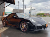 911カブリオレ ターボS PDK スポクロP正規D車PccbPdccレザー&CarbonPG