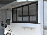 キッチンカー コンロ 100V電源 作業台 窓付き AT車