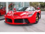 ラ フェラーリ 6.3 正規ディーラー車 黒革 純正ナビ