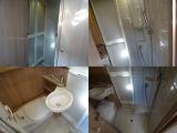 マルチルーム内は、シャワールームとカセットトイレがあります♪