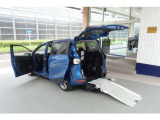 シエンタ 1.5 G ウェルキャブ 車いす仕様車 タイプI 助手席側セカンドシート付 ナビ&...