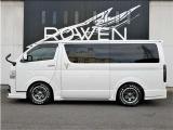 ハイエースバン 2.0 スーパーGL ダークプライムII ロング 新車未登録 ROWENエアロ T...