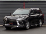 LX570 4WD MODELLISTAエアロ OP21inAW 黒革 SR