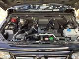本格4WDの過酷な使用環境で走りやすさと耐久性を追及したエンジン。