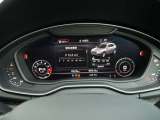 ドライバーに必要な情報を集約する事により視線の移動量を軽減し安全にも寄与する先進のバーチャルコックピット。