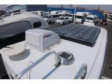 ソーラーパネルも搭載されています!