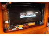 2000Wインバーター装備しておりますので外部から電源を取らなくてもAC電源の使用が可能