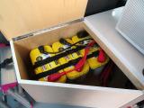 トリプルサブバッテリー装備!!車の後部で使用する電気を蓄えるバッテリーになります♪