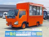 平成19年 いすゞ エルフ 移動販売車 キッチンカー フードトラック ケータリングカー