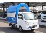NT100クリッパー 移動販売車 両側販売カウンター 2槽シンク
