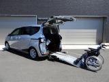 シエンタ  スローフパー タイプ1車イス XVパッケーギ 助手席側セカンドシート無
