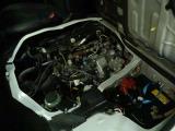 エンジンルームの画像になります。エンジンルームも綺麗に清掃しております。