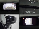 サイドカメラで狭い道やすれ違い時にモニターに左フロントタイヤ付近を表示できます。バックカメラで後退時に車両の後ろ側をモニター画面に表示致します。バック、車庫入れが苦手な方でも安心して運転ができます。