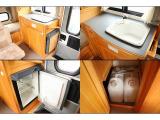 シンク・20リットル給排水ポリタンク・DC12V冷蔵庫☆