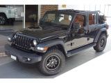ジープ・ラングラーアンリミテッド ブラックアンドタン 4WD 買取1オーナー社外アルミ...