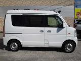 エブリイワゴン ウィズ 車いす移動車 リヤシート付 電動固定式 4WD
