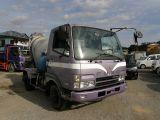 ファイター ミキサー車 最大積載量3.83トン 坂道発進補助装置 エアーブレーキ 12895