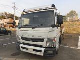 キャンター  ワイドロング 4トン積み 荷台鉄板 デュオニックAT フル装備 13533