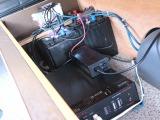 ツインサブバッテリー、コンバーター、1500Wインバーター装備です♪